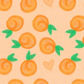 Just Peaches Orange