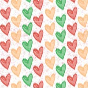 Just Hearts Rainbow
