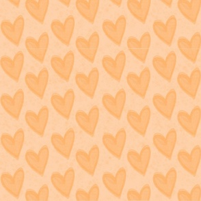 Just Hearts Orange