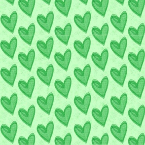 Just Hearts Green