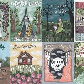 Childhood Classics - Book Covers
