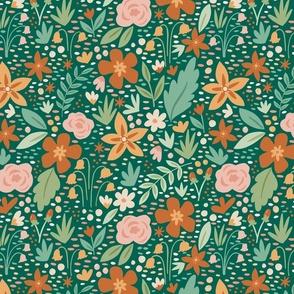 Spring Garden - Green