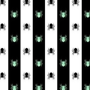 spiders! mint, doubha, und ban stripe