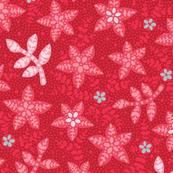 Flower toss - Red