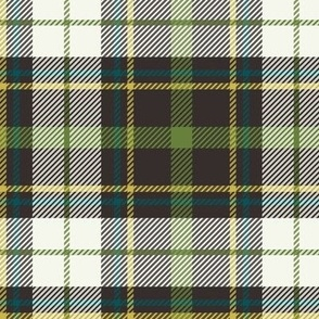 Nature Trail Plaid - Brown Large Scale