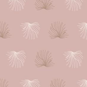 Coral mushroom pink by Jac Slade