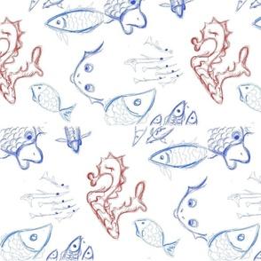 Romance. Fish