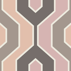 Blush Neutral Geometric