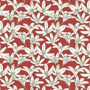 Season Blooms - Red Lippy Medium - Hufton