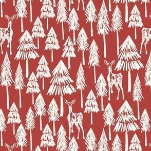 Doe A Deer - Red Lippy Plain Medium - Hufton-08