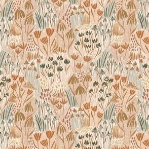 Woodland Floral - Earth Tones Medium - Hufton
