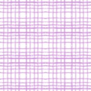 GINGHAM  lilac - MED 9