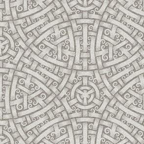 Five Woven Circles, slightly lighter