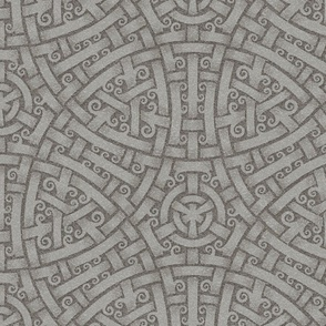 Five Woven Circles, darker