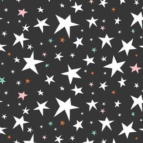 Starlight - Twinkling Stars - Black Regular Scale