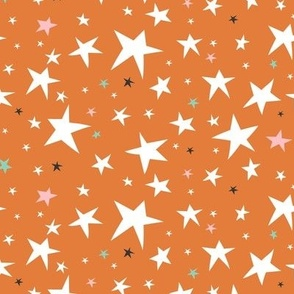 Starlight - Twinkling Stars - Orange Regular Scale