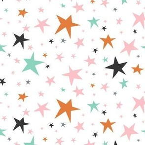 Starlight - Twinkling Stars - White Regular Scale
