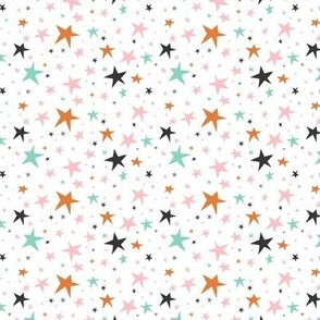Starlight - Twinkling Stars - White Small Scale