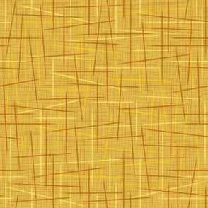 Toothpicks Gold Yellow Brown