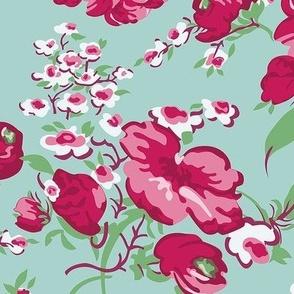 Retro Kitchen Floral