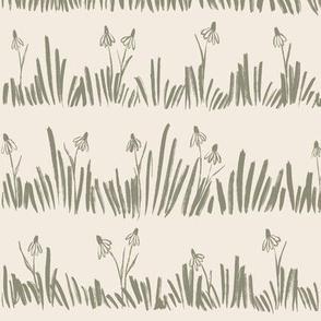 Meadow - Wildflowers Artichoke Large - hufton
