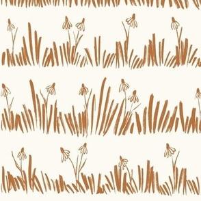 Meadow - Wildflowers Bronze Large - hufton