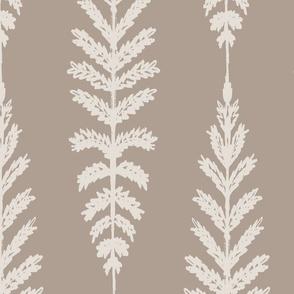 Ferns Jumbo - Taupe