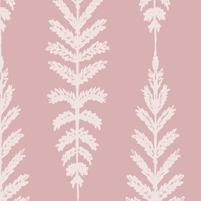Ferns Jumbo - Dusty Pink
