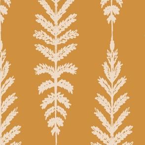 Ferns Jumbo - Mustard