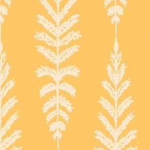 Ferns Jumbo - Sunshine Yellow