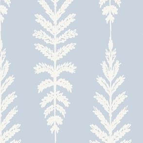 Ferns Jumbo - Light Blue