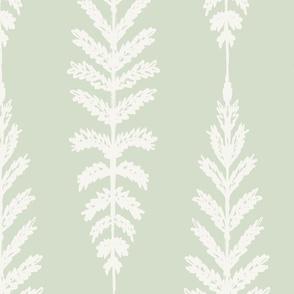 Ferns Jumbo - Soft Green