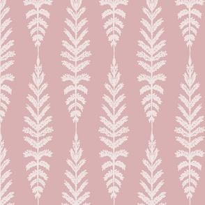 Ferns - Dusty Pink