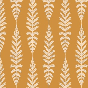 Ferns - Mustard