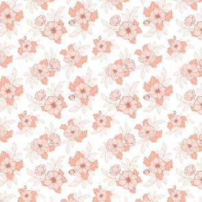 Dog Roses S - White