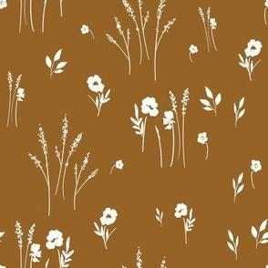 Meadow-Cream on Rust_MEDIUM