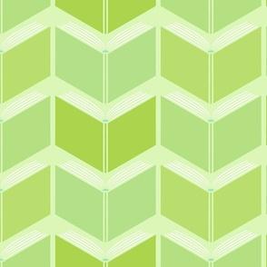 Herringbone Books! in  greens