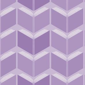 Herringbone Books! in  violets