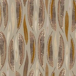Feathers Olive_Iveta Abolina