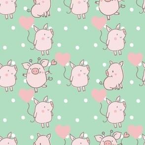 Piggy Celebration