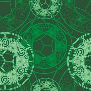 Green DunMagic Circle