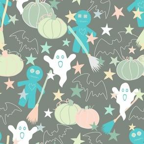 Spooky Halloween - Pastels