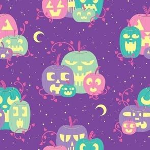 Pastel Jack-O-Lanterns