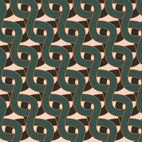 Illusion chain deep green