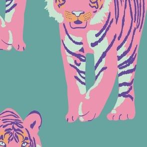 pink tiger walk - small