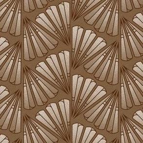 Brown Geometric Plumes