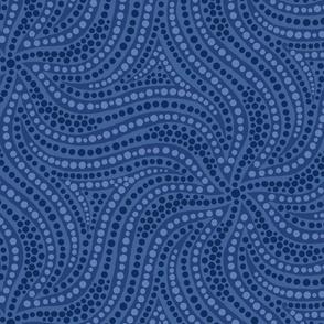 Blue Dotburst