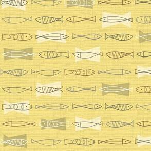 Scandia Fish Illuminating Yellow