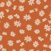 pretty daisy on rust
