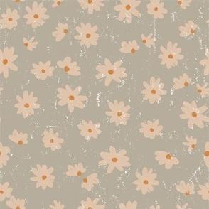 pretty daisy on sea